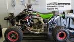 Kawasaki-KFX-450-Bigbore-490 testrun Dynojet testbank