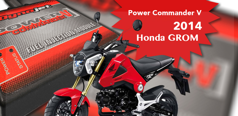 Power Commander V voor 2014 Honda GROM