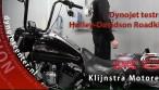 testrun Harley-Davidson Roadking
