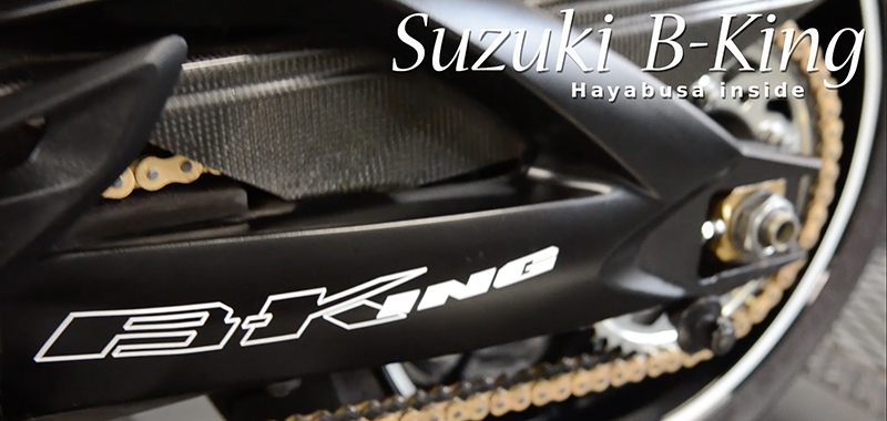 Suzuki_B-King testrun