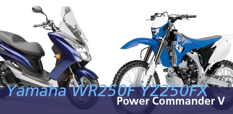 Yamaha WR250F YZ250FX