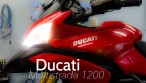 Ducati Multistrada 1200 testrun