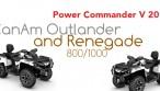 CanAm Outlander Renegade 800 1000