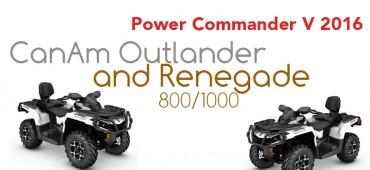 Powercommander voor CanAm Outlander en Renegade 800/1000