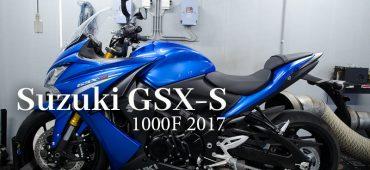 Dynojet testrun Suzuki GSX-S 1000F