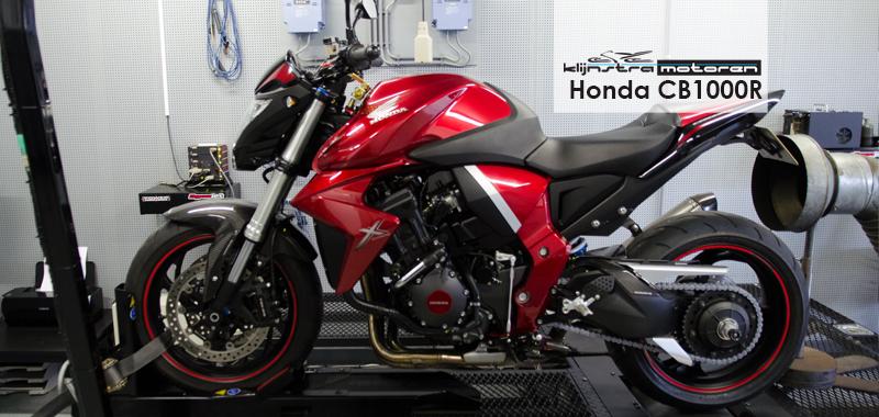 Honda CB1000R dyno testrun