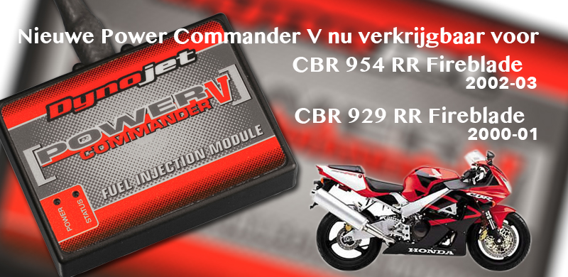 Power Commander V voor Fireblades