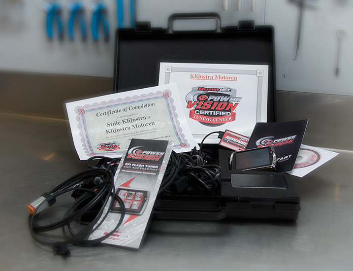 PowerVisionTuning Center certificaat