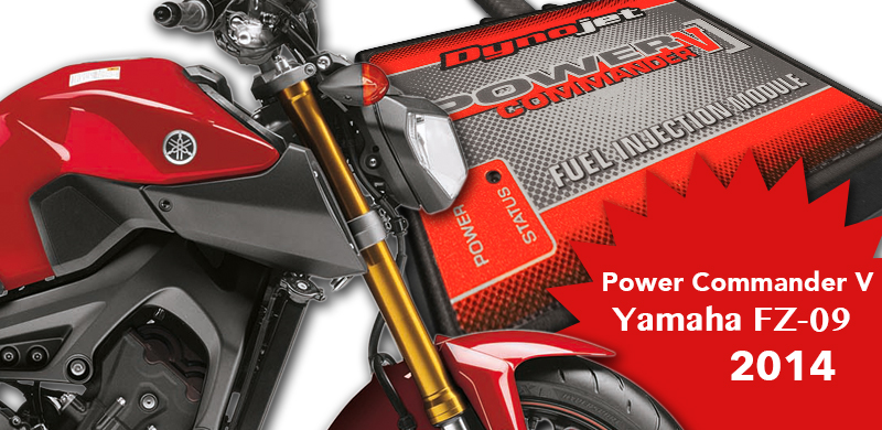 YamahaFZ-09 PowerCommanderV
