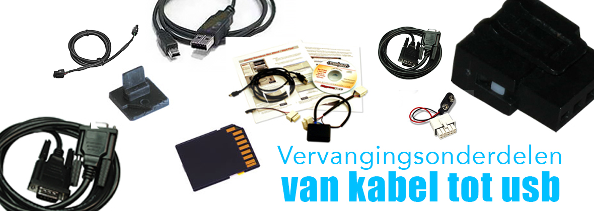 Vervangingsonderdelen PowerCommander